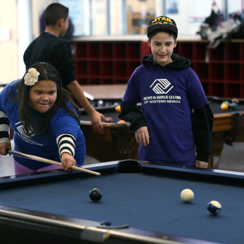 Members play in the game room at the Boys and Girls Club of Western Nevada in Carson City, Nev. on Friday, Feb. 5, 2016.  Photo by Cathleen Allison