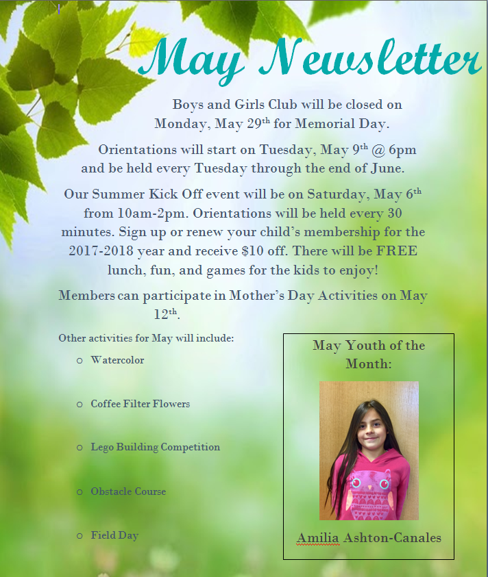BGC Carson Valley Newsletter